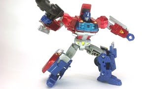 Video Review of theTransformers Generations Orion Pax(young optimus prime) Takara