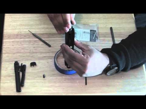 S&W SD9 VE Apex Trigger Kit Install & Magwell Cutouts