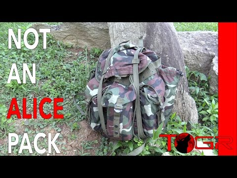 NOT an ALICE PACK - The Woodland NATO Combat Rucksack