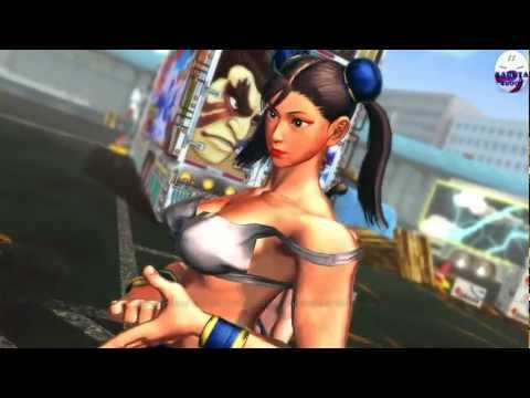 Street Fighter X Tekken - Chicas en bikini