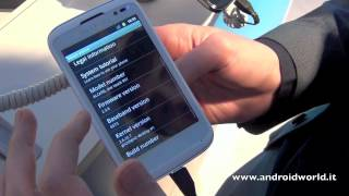 Alcatel One touch 991, anteprima in italiano by AndroidWorld.it