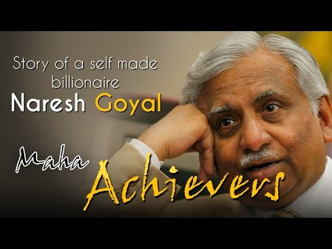 Naresh Goyal - Story Of A Self Made Billionaire | Maha Achievers