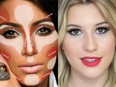 Preparação de pele para festas (estilo Kim Kardashian)