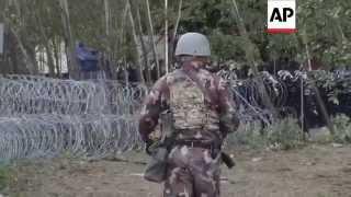 Hungary police repel migrants at Serbia border | Editor's Pick | 16 Sept 15