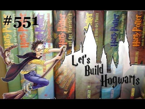 DARUM MUSST du die Harry Potter BÜCHER lesen! | Let's Build Hogwarts #551
