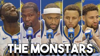 Warriors On Their FIVE All Star Starting Lineup, Potential With Boogie Cousins