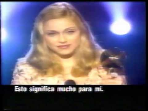 Madonna Semana Rock MTV Billboard Awards 1996 Subtitled