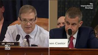 WATCH: Rep. Jim Jordan's full questioning of committee lawyers | Trump impeachment hearings