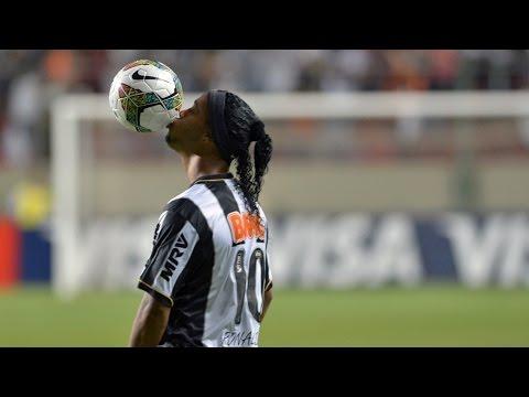 Ronaldinho Gaúcho! 5 Gols mais bonitos pelo Atlético Mineiro!