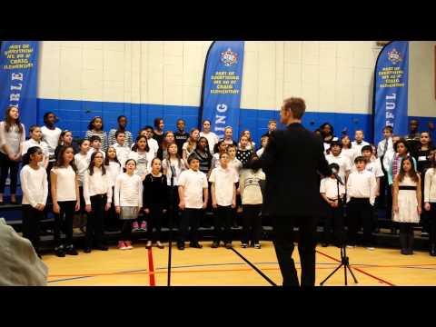 "Craig School Chorus ""God Bless America"""