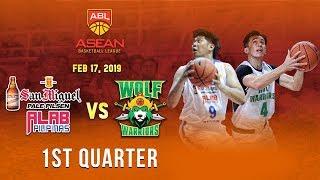 San Miguel Alab Pilipinas VS Zhuhai Wolf Warriors| 1st Quarter| Feb 17 2019| ABL 2018-2019