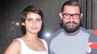 Fatima Sheikh to PLAY Aamir Khan's WIFE in her next !