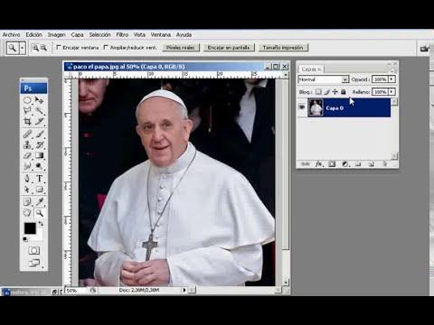 El filtro Extraer de Photoshop