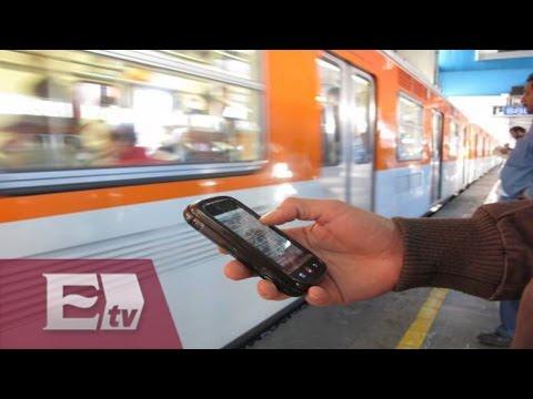 Se podrá pagar la entrada al metro vía celular / Comunidad con Óscar Cedillo