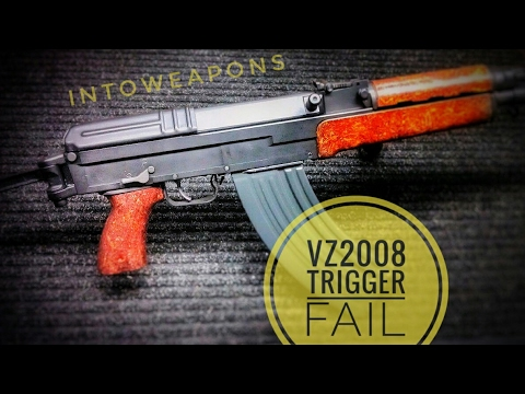 CAI VZ-2008 Trigger Failure