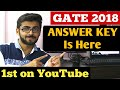 GATE 2018 ANSWER KEY Is HERE All Questions | FULL ANSWER KEY | GATE 2018 cse MP3