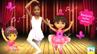 Sparkle and Spin Ballerina Dora Unboxing | Toys Academy