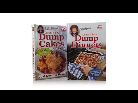"""""""Dump Dinners"""" and """"Dump Cakes"""" Quick   Easy Cookbook Duo"""