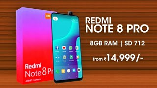 Redmi Note 8 Pro - Full View Display with 32MP Front Camera 🔥🔥🔥   Redmi Note 8 Pro