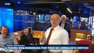 Bem-humorado e jornalista crítico: Uma semana sem Boechat