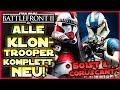 Alle Klon Trooper komplett Neu! Alles Überarbeitet! - 501st & Coruscant Guards - Battlefront 2