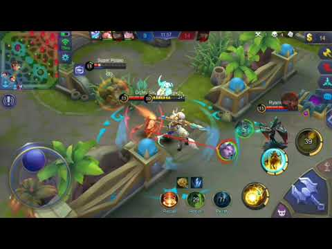 Mobile Legends Hylos Gameplay Ranked Game + Epic Game