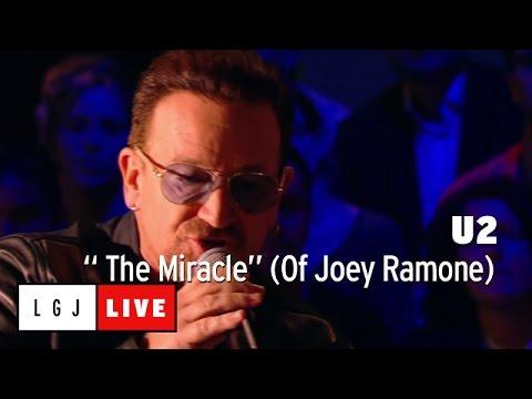 U2 - The Miracle (of Joey Ramone) - Live Du Grand Journal video
