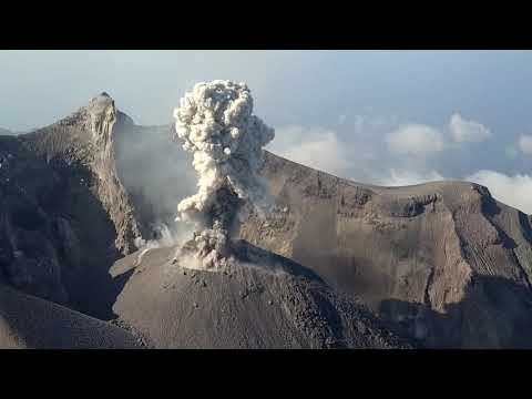 Sangeang Api Volcano by Drone