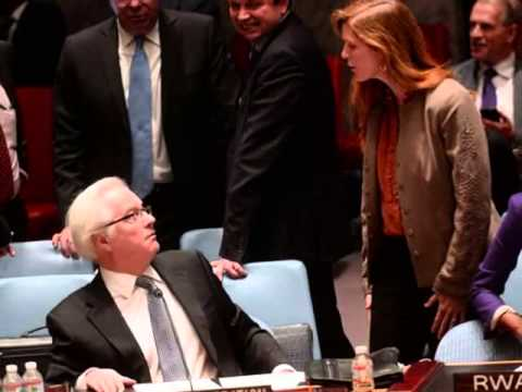 Russian, US envoys to UN clash at Security Council emergency meeting