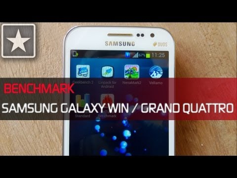 ★ Galaxy Win / Grand Quattro   Benchmarking Review