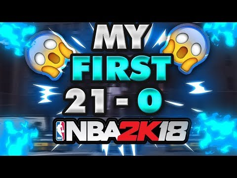 HOW TO WIN EVERY GAME YOU PLAY | ONE FIRST 21-0 GAME PLAY ON 2K18 | BEST LINE UP IN 2K18 | GOATED |