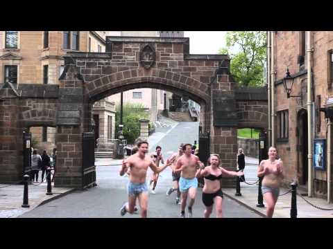 Glasgow University Underwear Run 20/05/2012