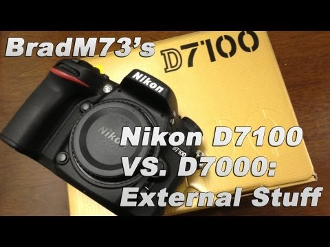 Nikon D7100 VS D7000 Comparison: External Stuff