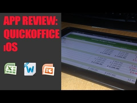 App Review: QuickOffice [ iPhone, iPad, iPod ]