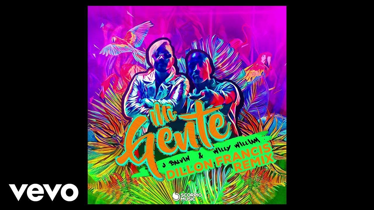 J Balvin, Willy William, Dillon Francis - Mi Gente (Dillon Francis Remix/ Audio)