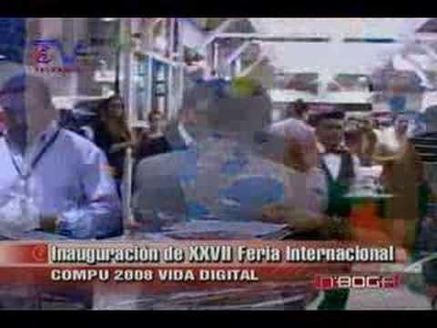Inauguración XXVII Feria Internacional Compu 2008