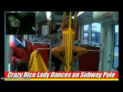 She Was Gone: Naked Woman Goes Crazy On Bus (Yells i Want Rice Not Beans)