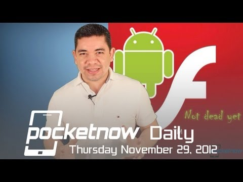 iPhone 5 Goes Unlocked. Nexus 10 Review. Adobe Flash On Jelly Bean & More - Pocketnow Daily