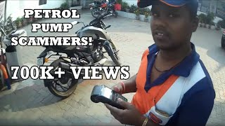 Petrol Pump Scammers! Delhi | Be Alert and Beware of such Scammers!