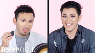 Manny MUA Talks a Beginner Through a Makeup Tutorial | Teen Vogue
