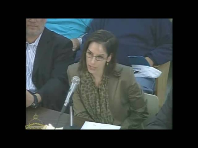 Oct 2009 Hearings on Expanded Gambling in Massachusetts - Dr. Hans Breiter and Natasha Schull