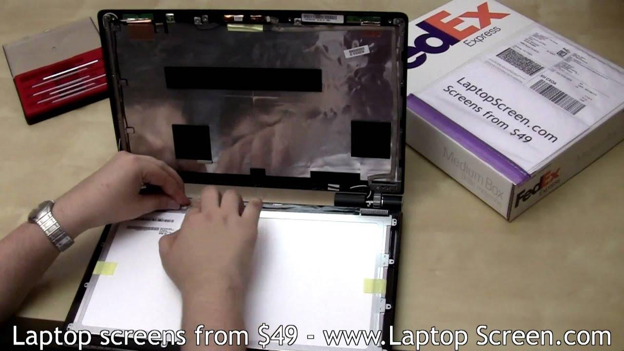 Laptop Screen Repair Lcd Screen Replacement Tutorial