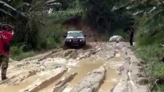 Toyota Hilux vs Mitsubishi L200 vs Nissan Navara off road 4x4