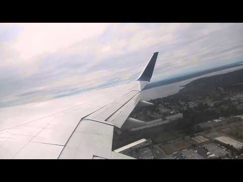 Delta Airlines Boeing 757-200 Takeoff from Seattle-Tacoma International Airport