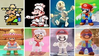 Super Mario Odyssey - All Costumes Origins (Where they came from)