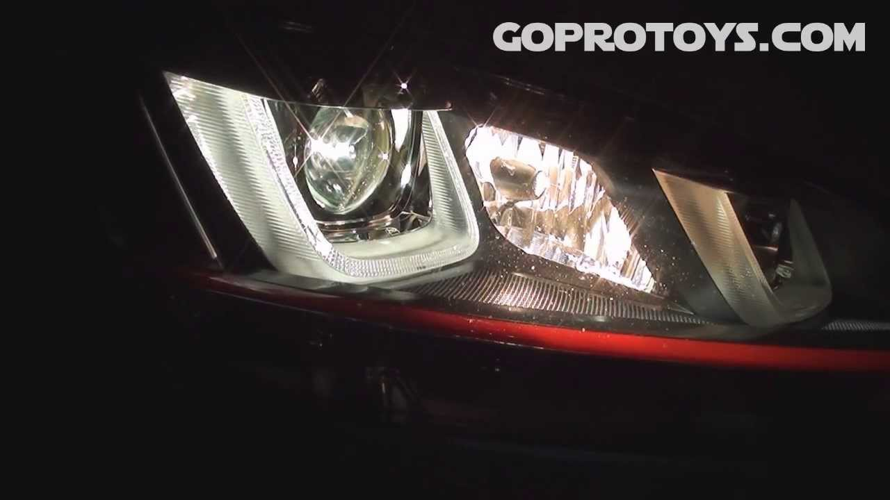 Mk7 Golf Gti Bi Xenon Headlights Youtube