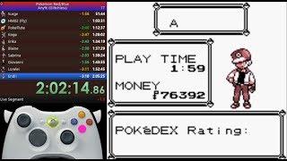 Pokemon red any% 2:02:20.31