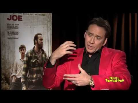 NIcolas Cage Faces Off with Poisonous Snakes
