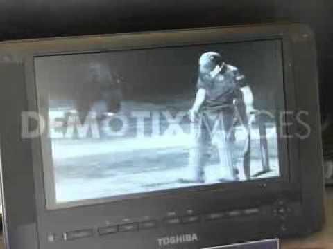 Thermal Imaging Hot Spot Camera used at Lords - Movies