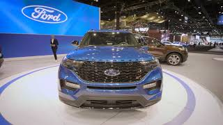 2020 Ford Explorer at the Chicago Auto Show
